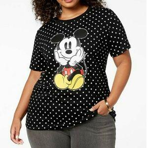 🔥🆕➕ MICKEY Polka Dot Tshirt